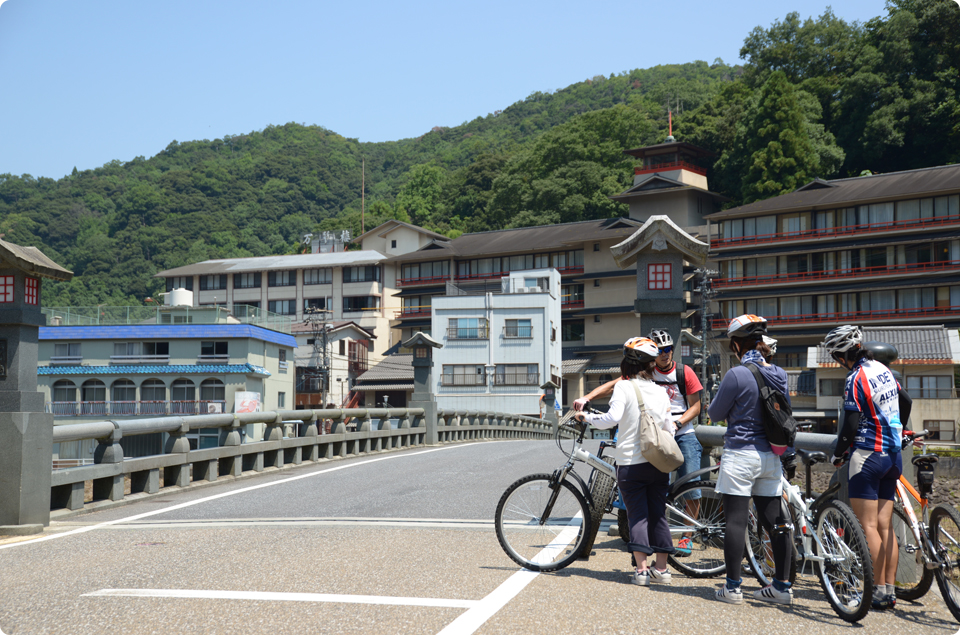 National treasure Mt.mitokusan surround cycling tour.(afternoon tour with guide)