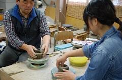 倉吉陶芸体験