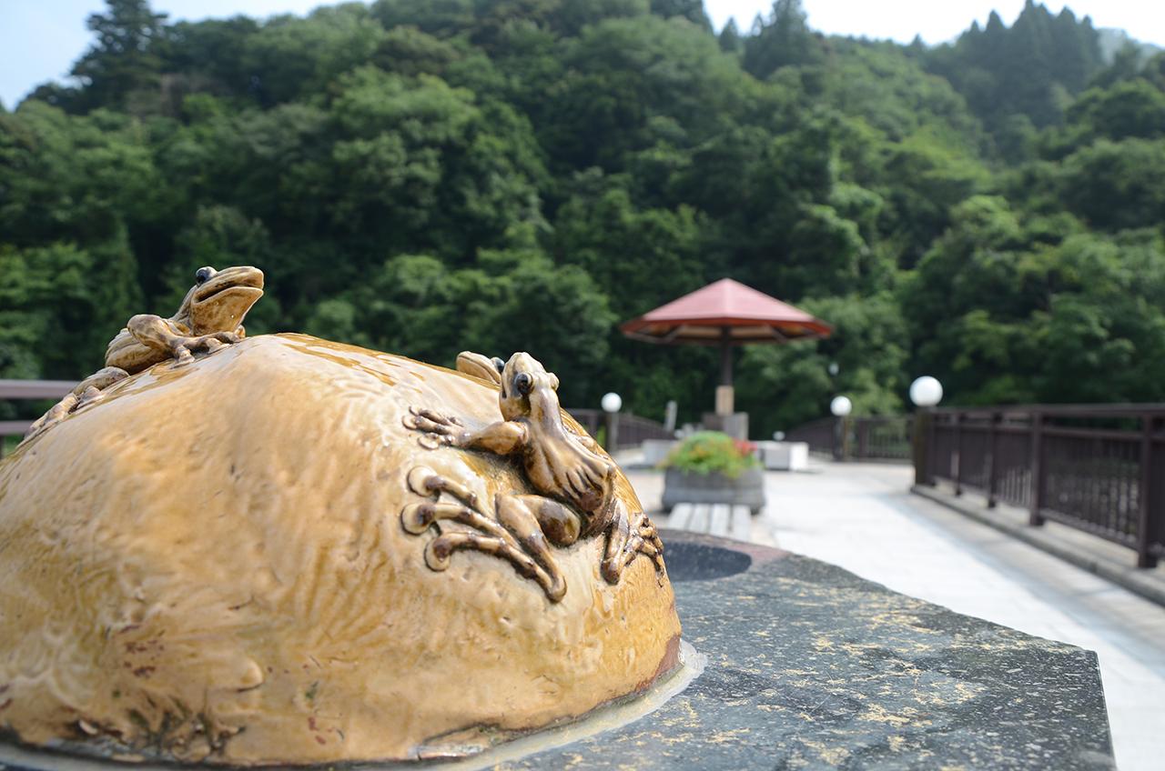 三朝温泉Ⓒ鳥取県