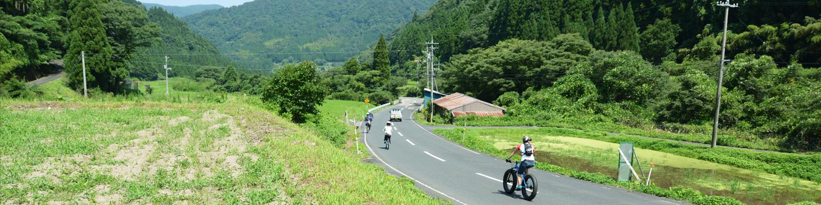 三徳山サイクリング